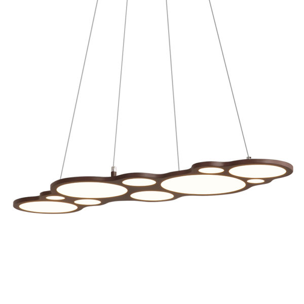 Postmodern Hanging Circles Pendant Light
