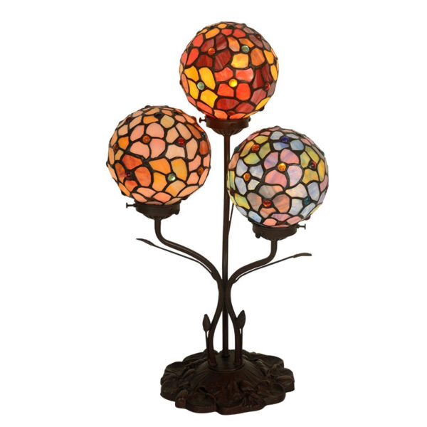 Spherical Stained Glass Decorative Night Lamp Light