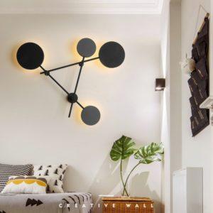 Postmodern Creative Geometric Wall Lamp Lights