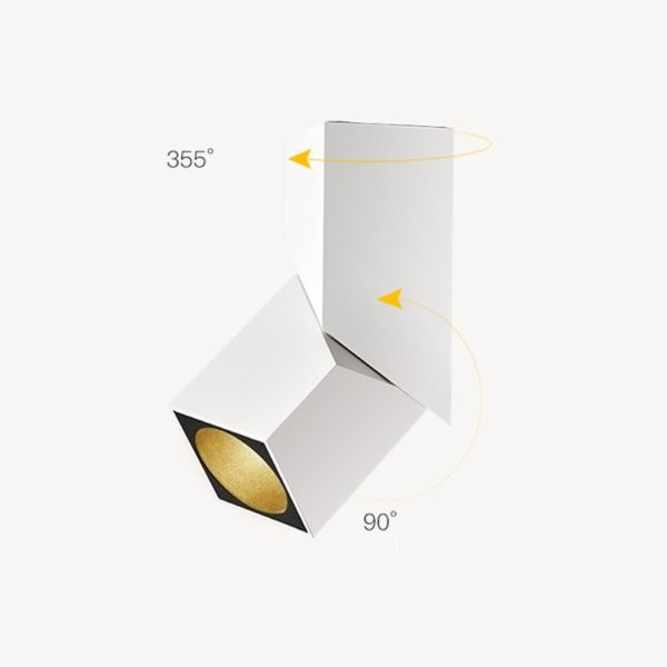 Art Cube LED Spotlight Ceiling Fixture Surface Mounted