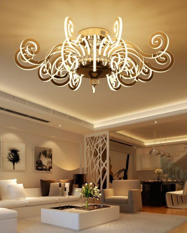Post-modern Luxury LED Luster Chandelier