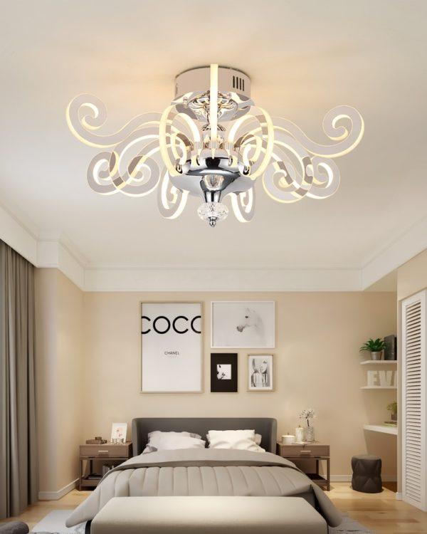 Post-modern Luxury LED Luster ChandelierPost-modern Luxury LED Luster Chandelier