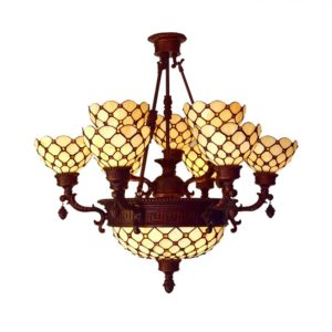 Pineapple Design Tiffany Pendant Light Chandelier