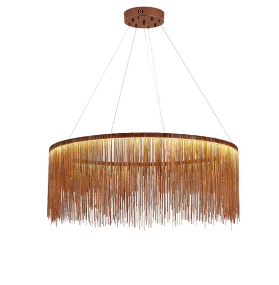 Postmodern Chain Chandelier Pendant Light