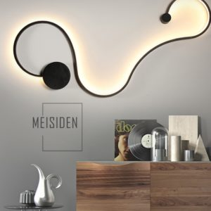 Postmodern Acrylic Surface Mounted Wall Lamp