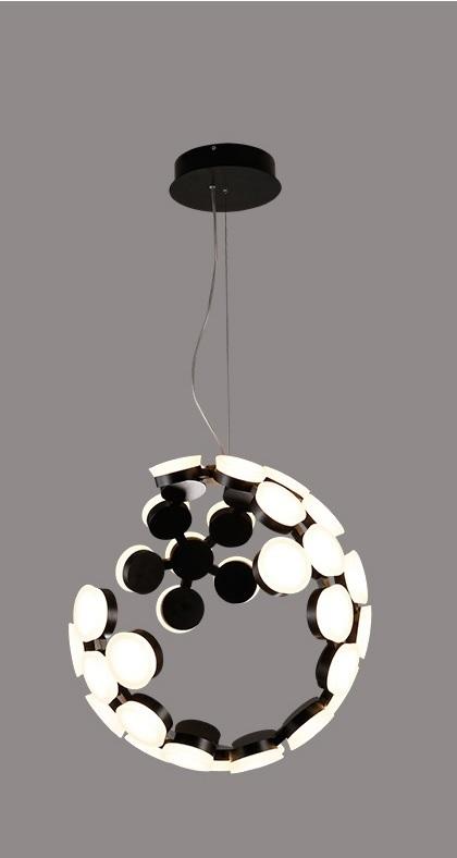 Postmodern Incomplete Sphere LED Pendant Light