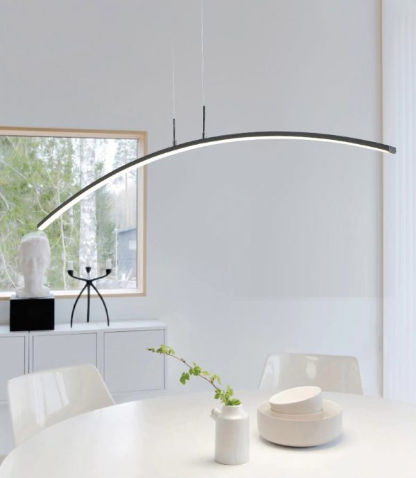 Postmodern Remote Controlled LED Pendant Lights