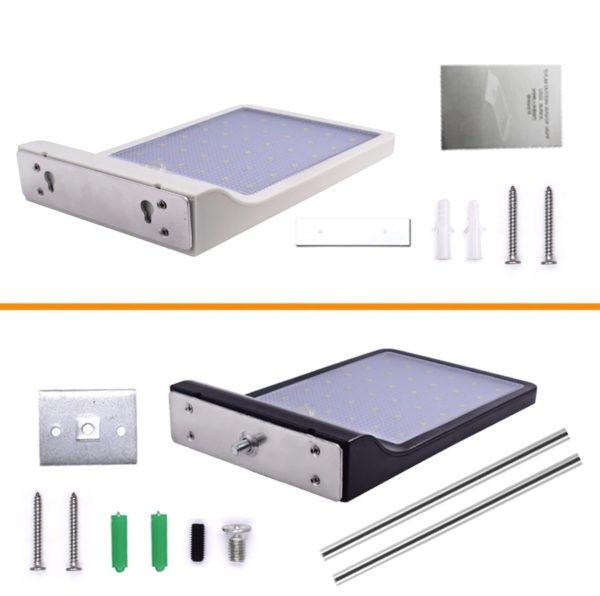 Solar PIR Motion Sensor Waterproof Outdoor Wall Light