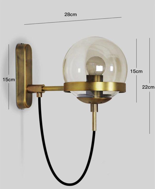 Simple Post-modern LED Sconce Wall Light Lamp