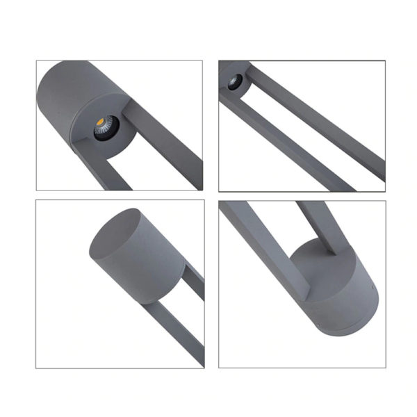 Minimalist Waterproof LED Lawn Lamp