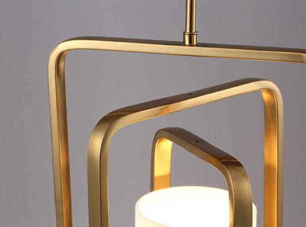 Postmodern Geometric Ceiling Light Fixture
