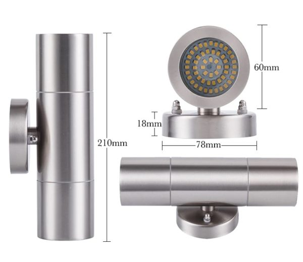 Waterproof LED Outdoor Wall Lamp Up/Down