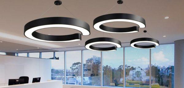 Minimalist C Shape LED Pendant Light
