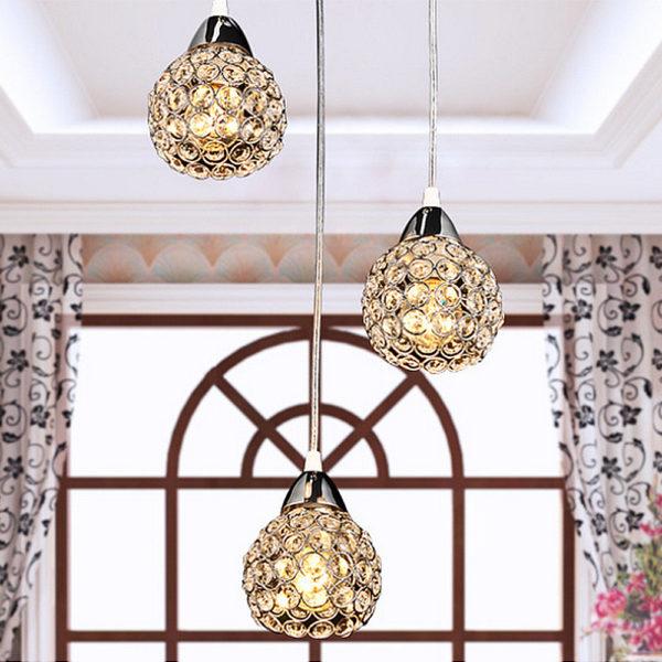 Postmodern K9 Crystal Pendant Lamp Lights