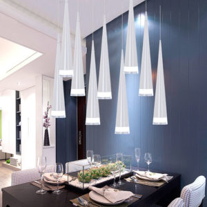 Alloy Minimalist LED Pendant Light Variations