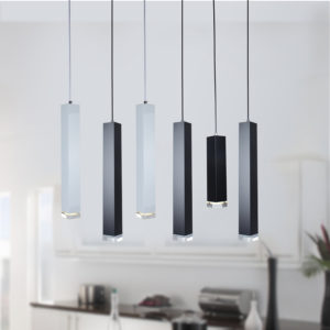 Minimalist LED Pendant Lights Cylindrical