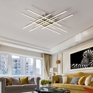 Geometric Minimalist Ceiling Light Fixture