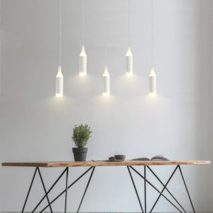 Retro Milk Bottle LED Pendant Lights