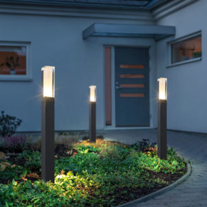 Waterproof LED Lawn Lamp Pillar Light