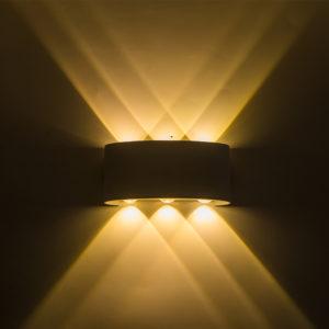 Waterproof Outdoor Wall Lamp Up/Down 6W