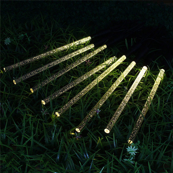 Solar Garden Light Crystal Bubble Glow