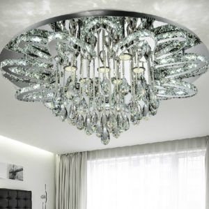 Creative K9 Crystal Chandelier SS Chassis