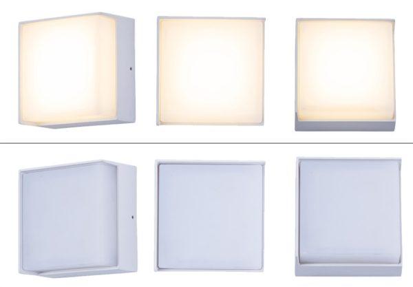 Waterproof 120 Degree LED Outdoor Wall