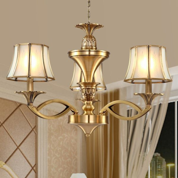 Luxury Copper Chandelier Collection