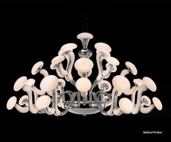 Postmodern Mushroom Chandelier
