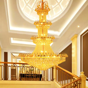 European Luxury Luster Crystal Chandelier