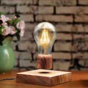 Postmodern Levitating Edison Desk Lamp