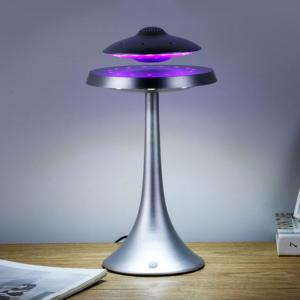 Levitating UFO Table Lamp with BT Speaker