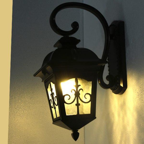 European Style Waterproof Wall Lamp