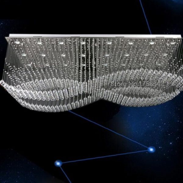 Ultra-modern Creative Crystal Bubbles Chandelier