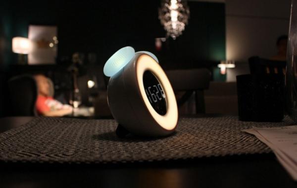 Motion Sensor Desk Lamp Alarm Clock