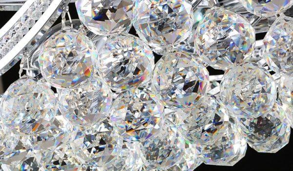 Postmodern Luster Crystal Chandelier