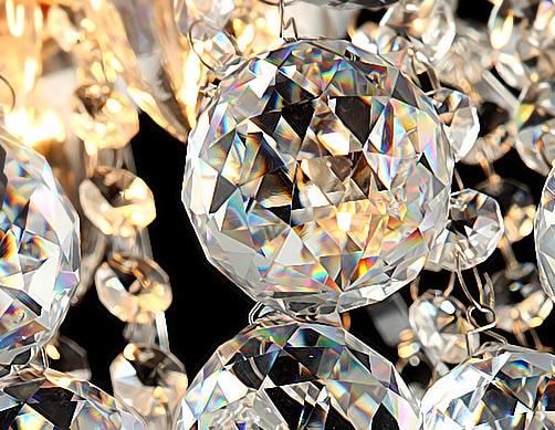 Luxury Crystal Chandelier Luster Glow