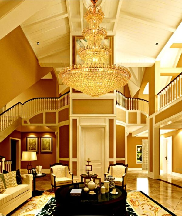 European Luxury Luster Crystal Chandelier