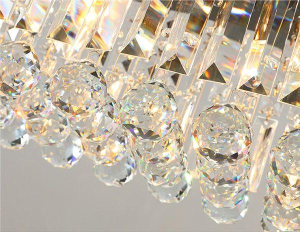 Postmodern Luxury Crystal Chandelier