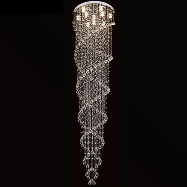 Rainfall Crystal Chandelier