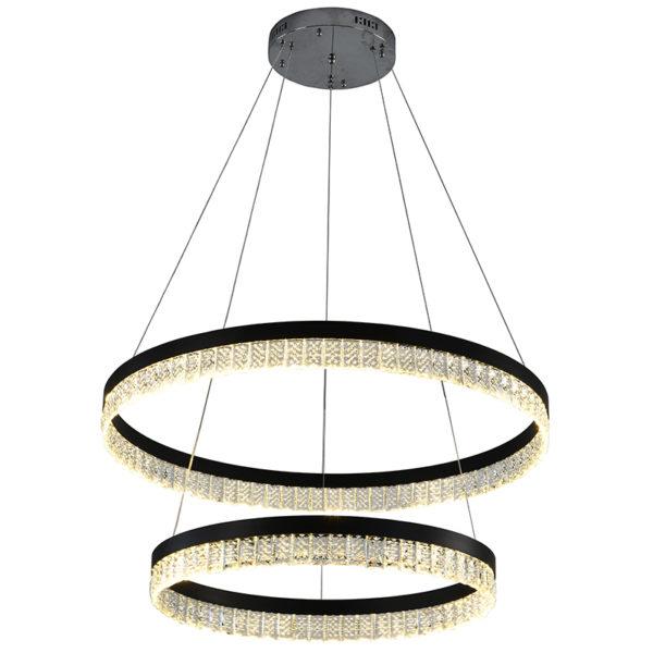 Pendant Light Rings Clear Curtain