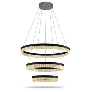 Pendant Light Rings Clear Curtain