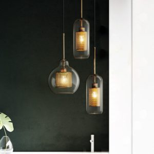 Glass Lampshade Pendant Lights