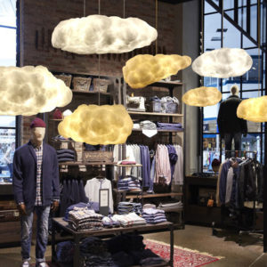Cotton Floating Cloud Pendant Light