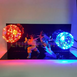 Dragon Ball Z Nightlight Vegeta Son Goku Super Saiyan