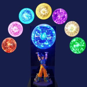 Dragon Ball Z Goku Spirit Bomb Lamp