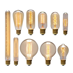 Vintage Filament Edison Bulb E27 Incandescent Bulbs Retro Bulbs Popular Bulbs