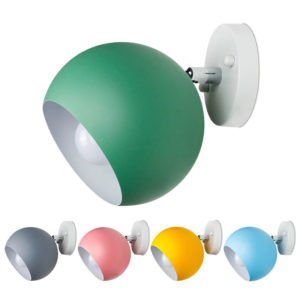 Postmodern Colorful Sphere Wall Lamp