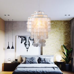 Seashell Pendant Light Seashell Chandelier LED Chandelier