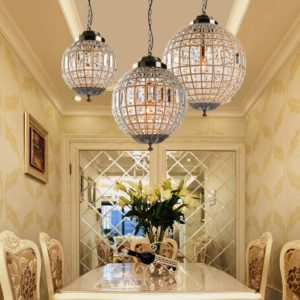 Royal Crystal Pendant Light Crystal Luster Empire Ball Crystal Ball Lamp Crystal Chandelier